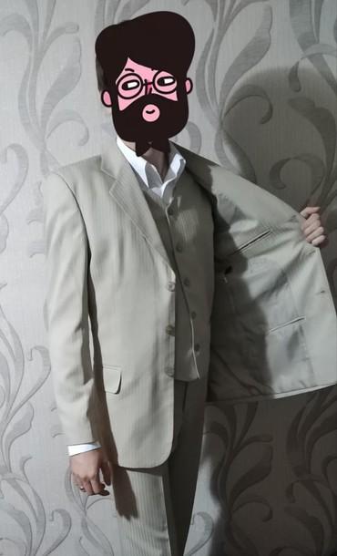 Туфли - Шопоков: Костюм мужской тройка! шикарный а идеале + рубашка в подарок 46