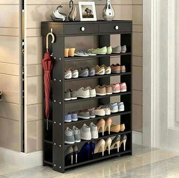 Полки для обувиэтажерка для обуви,есть в наличие размер 80 100 30Что