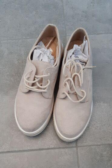 Bez cipele - Srbija: NOVE cipele bez boje,nisu nosene,broj 36
