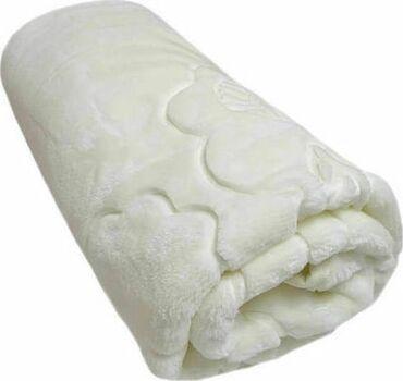 Άλλα παιδικά αντικείμενα - Ελλαδα: Βελουτε εκρου κουβερτα 100×120 εκ. Εντελως αχρησιμοποιητη