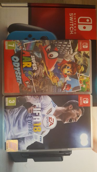 MARIO ODYSSEY and fifa 18 plus microSD card for 45 000 din and the - Belgrade