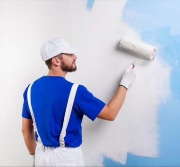 Работа - Мыкан: Водоэмульсионная краска кылабыз