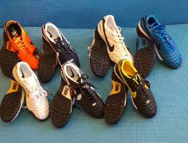 """Futbol ayaqqabısı """"Nike Tempo """"-süni ot örtüyü üçün.Razmer:40-41.7"""