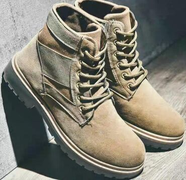 Мужские ботинки в Кыргызстан: Продам Ботинки Новые 42 размер. Цвет песок и черный