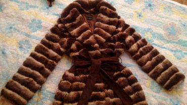 Shuba iskustvennaya edentichna shinshile.sostoyanie otlichnoe. в Бишкек
