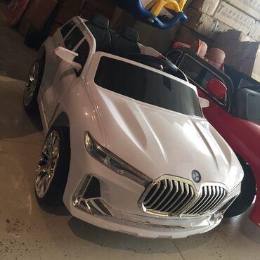 usaq uecuen musiqi mrkzi - Azərbaycan: Usaq masini BMW-X7 Ag ve qirmizirenglerivar 7yasa qeder istifadeli mod