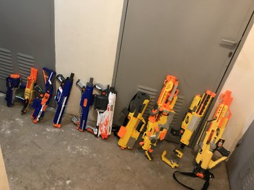 Whole nerf arsenal all in picture included σε Αγρίνιο
