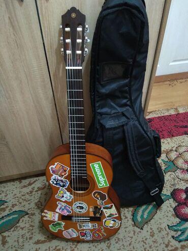узбекские платья фото в Кыргызстан: Классическая гитара yamaha cg122ms идеальное состояние, новые струны!