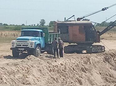 Дом и сад в Ак-Джол: Песок гравий глина отсев и ТД по городу доставка в течении 3-4