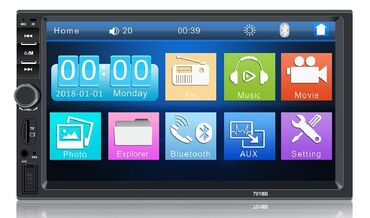 Multimedija za auto 7inchMP5 Player 7010B HD Bluetooth 7inch Touch