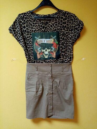 Majica goa - Srbija: Majica i suknja u kompletu
