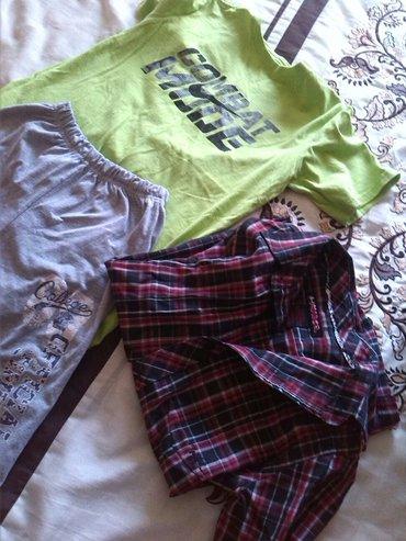 Kosulja kratkih rukava, majica i bermude vel 10 - Batocina