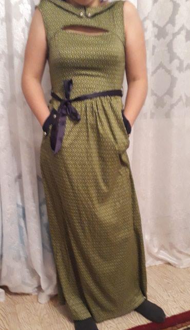 Платье длинное в пол турецкое. в Токмак