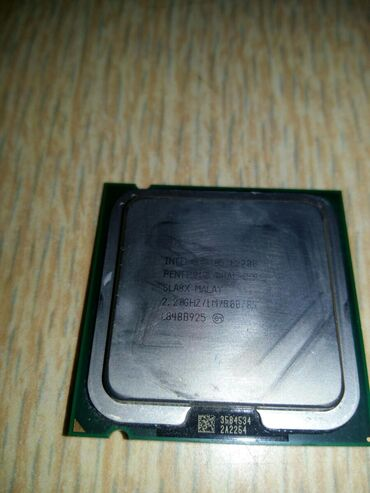Prossesor İntel Pentium e2200 dual core 2.20 GHZ. PC üçün.Yalnız