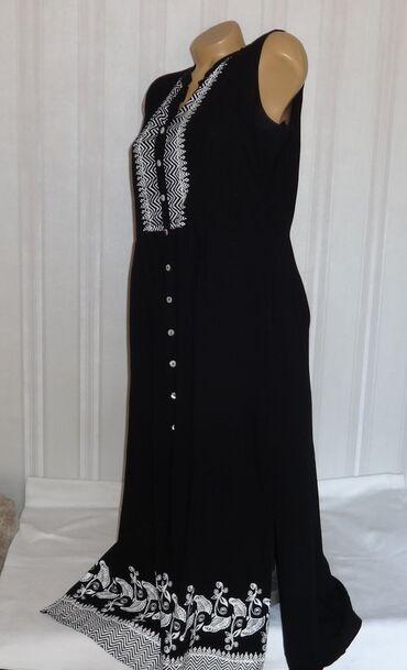 Платье р. 48-50 Индия штапель б/у в отличном состоянии