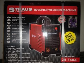 INVERTER Straus 350A display, aparat za varenjeBez problema vare sa