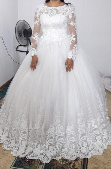 Свадебные платья на прокат!!!Размеры:42-54 На картине 52-54Цена:4999