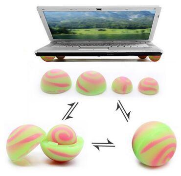 Охлаждающая подставка для ноутбука(силиконовые шарики)-100% новый
