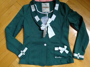 Ostala dečija odeća | Bajina Basta: Nov sako pamucan kupljen u inostranstvu. Velicina 16 a, poluobim pazuh