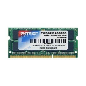 uzbekskie platya so shtanami в Кыргызстан: Память для ноутбука So DIMM DDR3 2GB PC10666 (1333MHz) Patriot