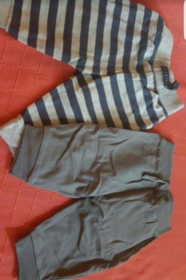 Dečija odeća i obuća | Pozarevac: 2 para treberki za bebe 100% pamuk Kao novo F&F marka