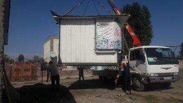 услуги кран в Кыргызстан: Услуги кран манипулятор