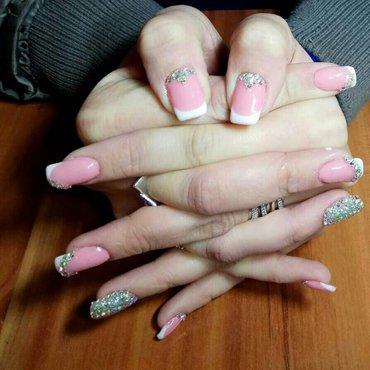 Маникюр,наращивание ногтей,шеллаки,дизайны,педикюр. в Бишкек
