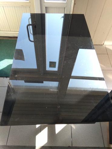 Столы лофт для кафе, дома 10 шт стекло 120*70*60 в Бишкек