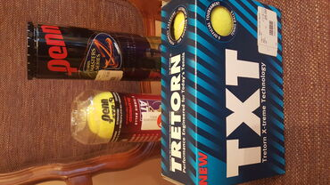 Ostali predmeti za sport | Srbija: TRETORN TXT loptice za tenis pakovanje od šest loptica cena 1000