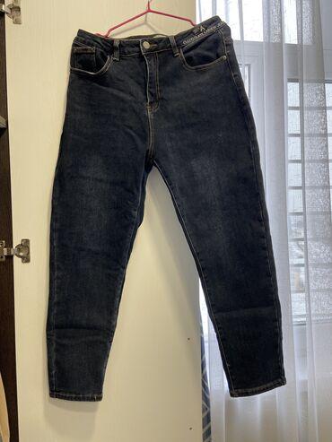 siemens старые модели в Кыргызстан: Женские утеплённые джинсы Модель Mom jeans размер 29 в идеальном