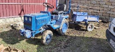 Traktor tekeri - Azərbaycan: Mini traktor T-12Traktor ideal vezyetde di ustunde butun aqreqatlari