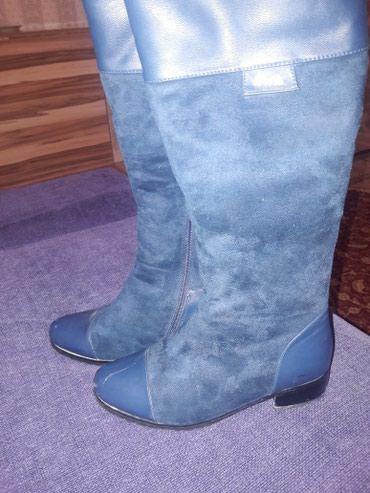 Зимние женские турецкие сапоги 36 размер в Бишкек