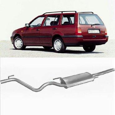 Глушитель задний (конечный, основной) для VW Golf III 1.4i/1.8i Varian