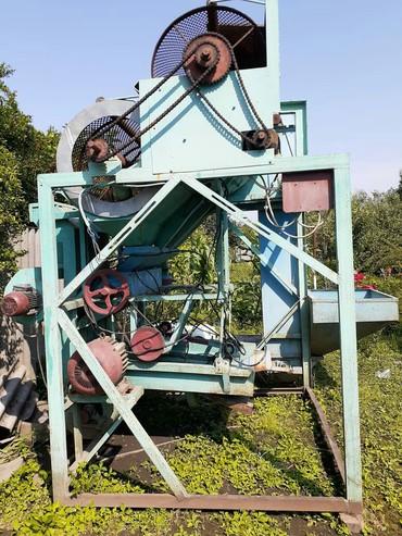 Агрегат для чистки ореха греческого за1 час очищает тонну ореха в отли