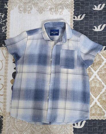 Продаётся рубашка с коротким рукавом на мальчика б/у в идеальном
