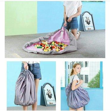 Коврик-сумка для игр и хранения в Лебединовка