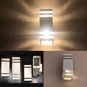 Radnici - Srbija: Zidne spoljne lampe; -Tip grla: GU10Broj grla:2Ready for LED