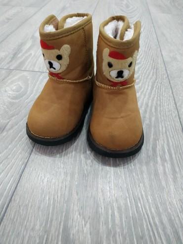 сапожки осение в Кыргызстан: Продам детские сапожки 22 размера. на холодную осень-начало зимы