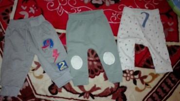 Bodi - Cuprija: Pantalonice za decaka po 200dinaravelicina do 3 meseca sive su veće