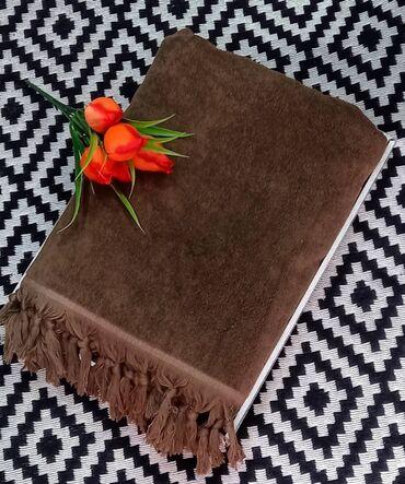 махровые халаты бишкек in Кыргызстан   ДОМАШНИЕ КОСТЮМЫ: Махровая покрывало с кисточками изготовлена из высококачественных