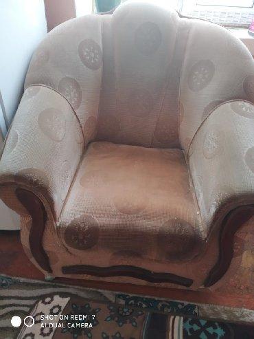 стулья кресла дерева в Кыргызстан: Диван и 2 кресла