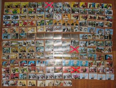 159 zivih nelepljenih original sličica Alan Ford - Beograd