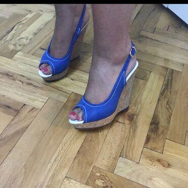 Ženska obuća | Kula: Stikle na plutu, jednom obuvene! Broj 39!