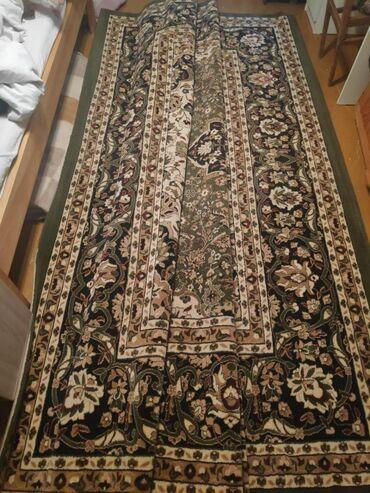 Ковер шелковый турецкий качественный, размер три метра на четыре