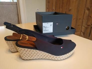 Nove Tonmy Hilfinger sandale br 37 teget boje. - Palic