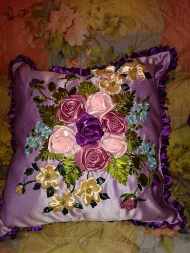 Продаю декоративные подушки ! вышитые в Бишкек