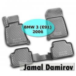 """NOVLINE BMW 3 (E91) 2006 ucun poliuretan ayaqaltilar""""AILERON"""" в Bakı"""