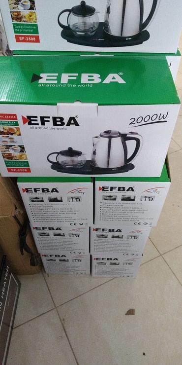 """Xırdalan şəhərində Elektrik çaydan """"Efba""""dəm cayniki ilə,say çoxdu,çatdırılma"""