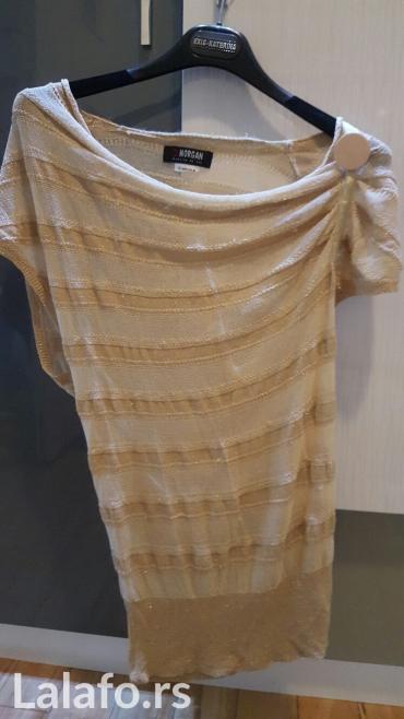 Morgan bluza- tuniku boje zlata, vel s, ali je siri model, kao nova - Nis