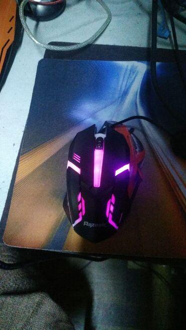 Мышка Razeak RM015 Gaming USB Новая Цена 220сом
